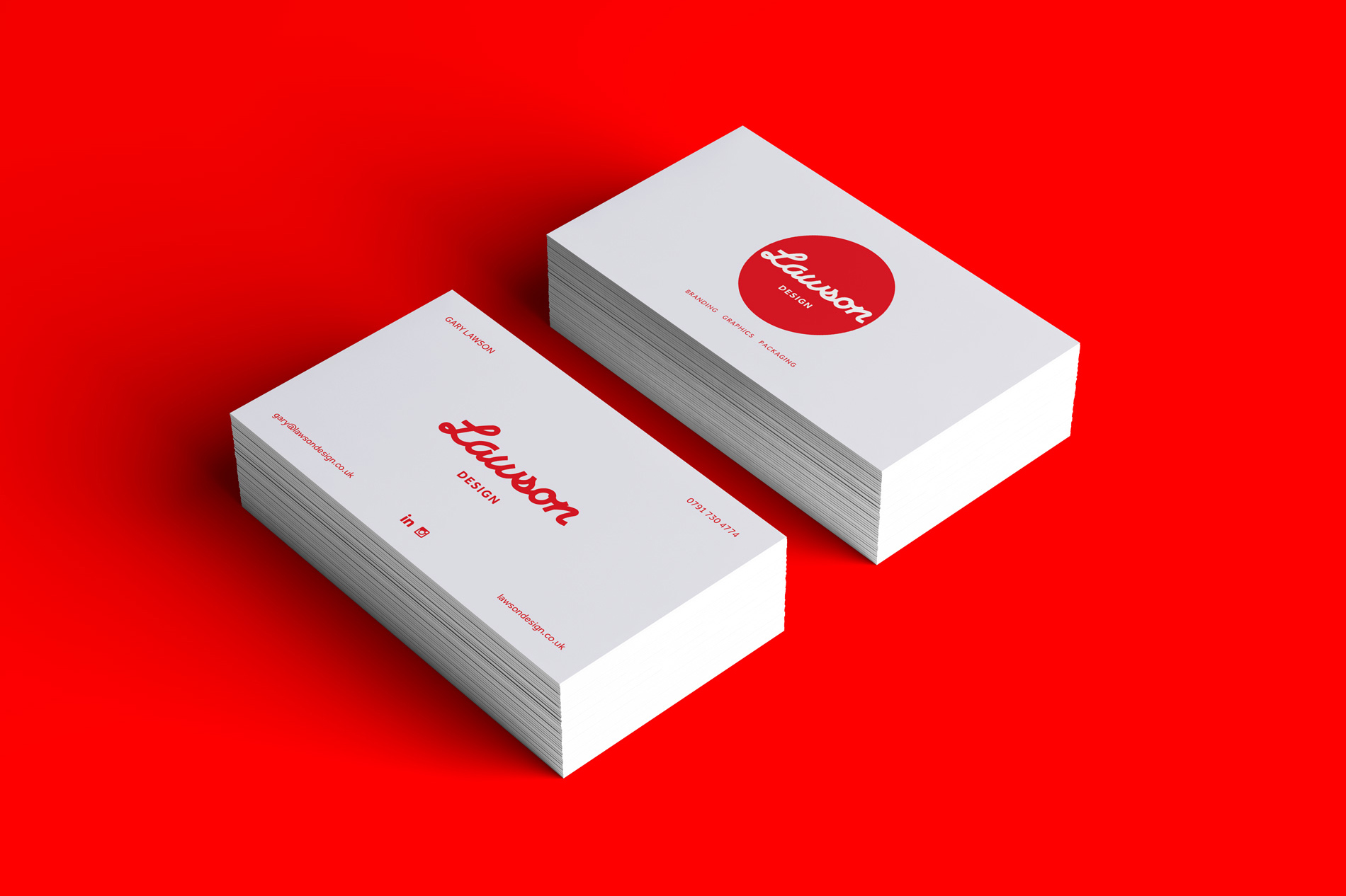 Lawson Design Logo, graphic designer, packaging designer, branding designer, Carlisle, Cumbria,