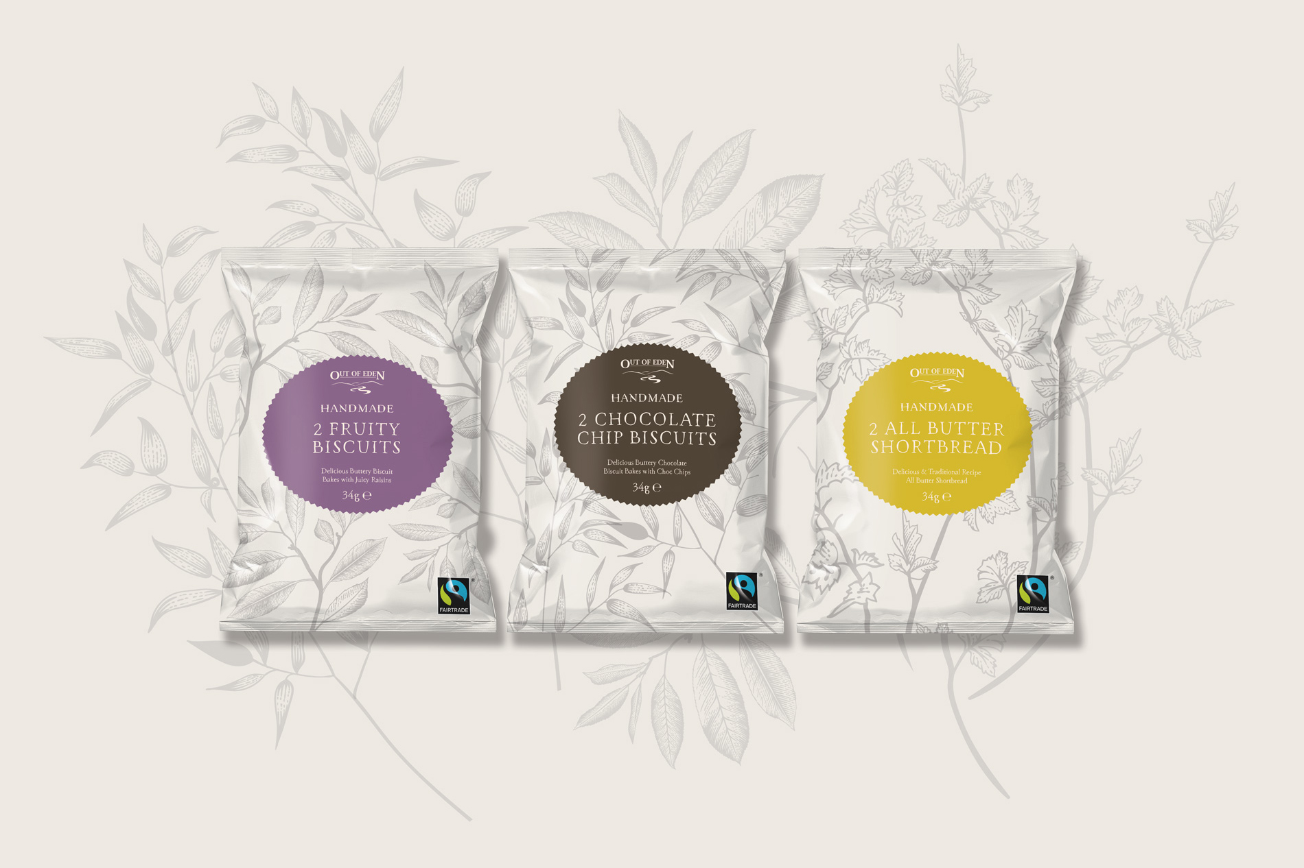 Out of Eden - Biscuit Packaging Concepts