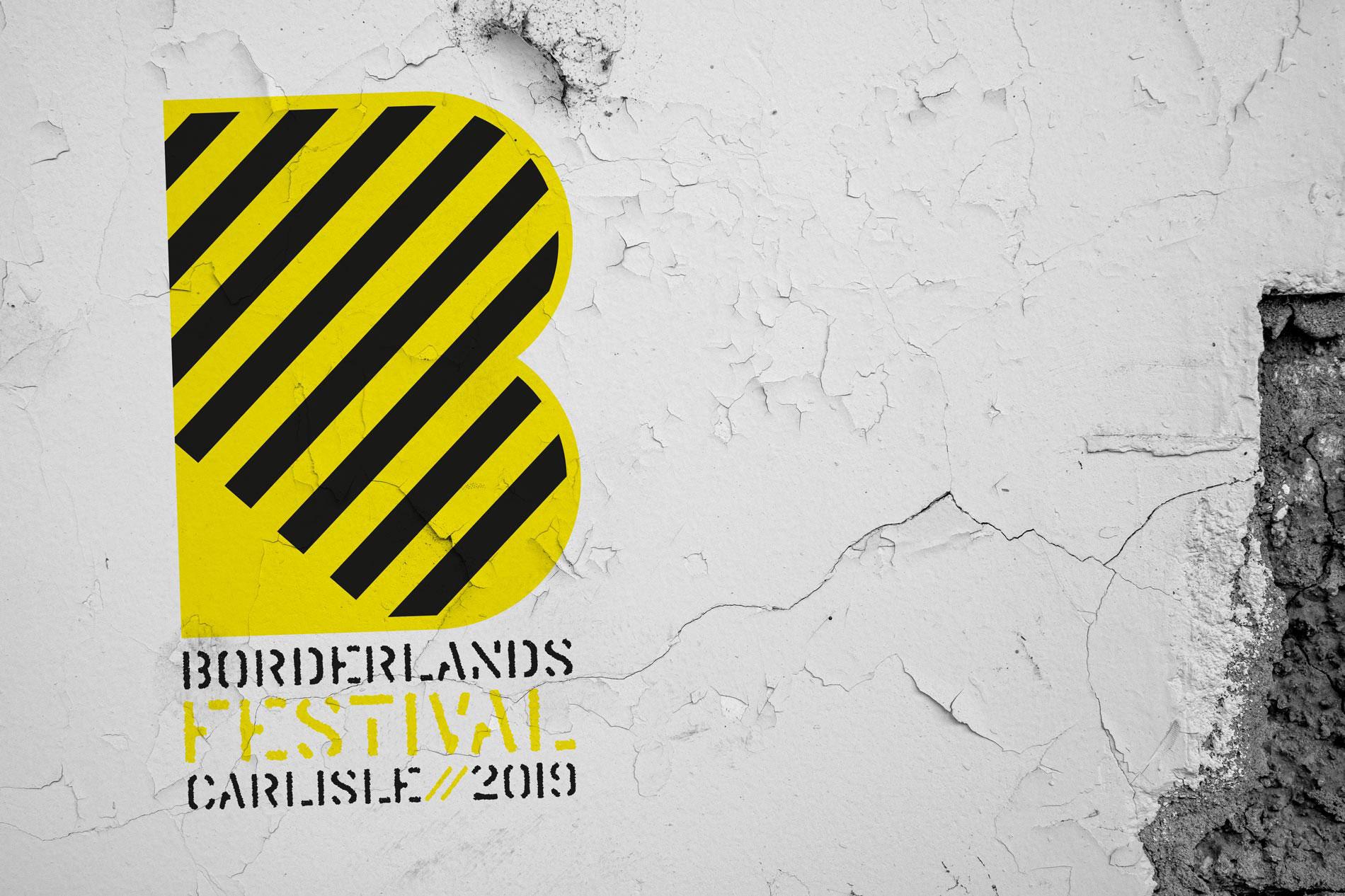 Eden Arts Borderlands 2019 Brand Identity Concepts