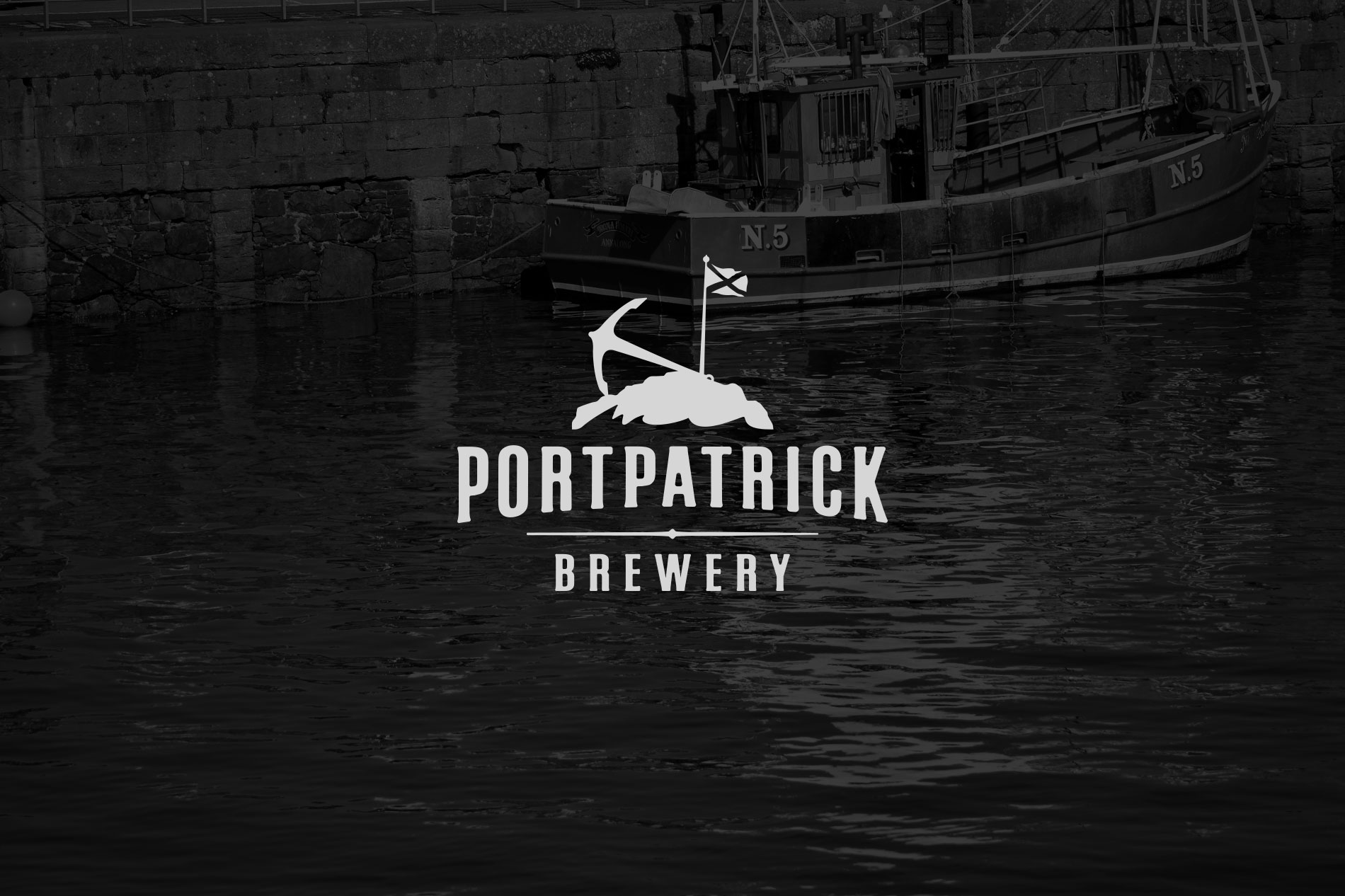 Portpatrick Brewery Beer Label Series Design